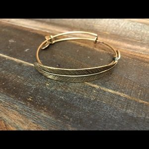 ALEX AND ANI- Quill Feather Bangle